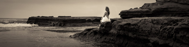 Tamara Fine Art Portrait at Torrey Pines - serene